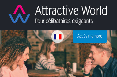 attractive world: application mieux que tinder